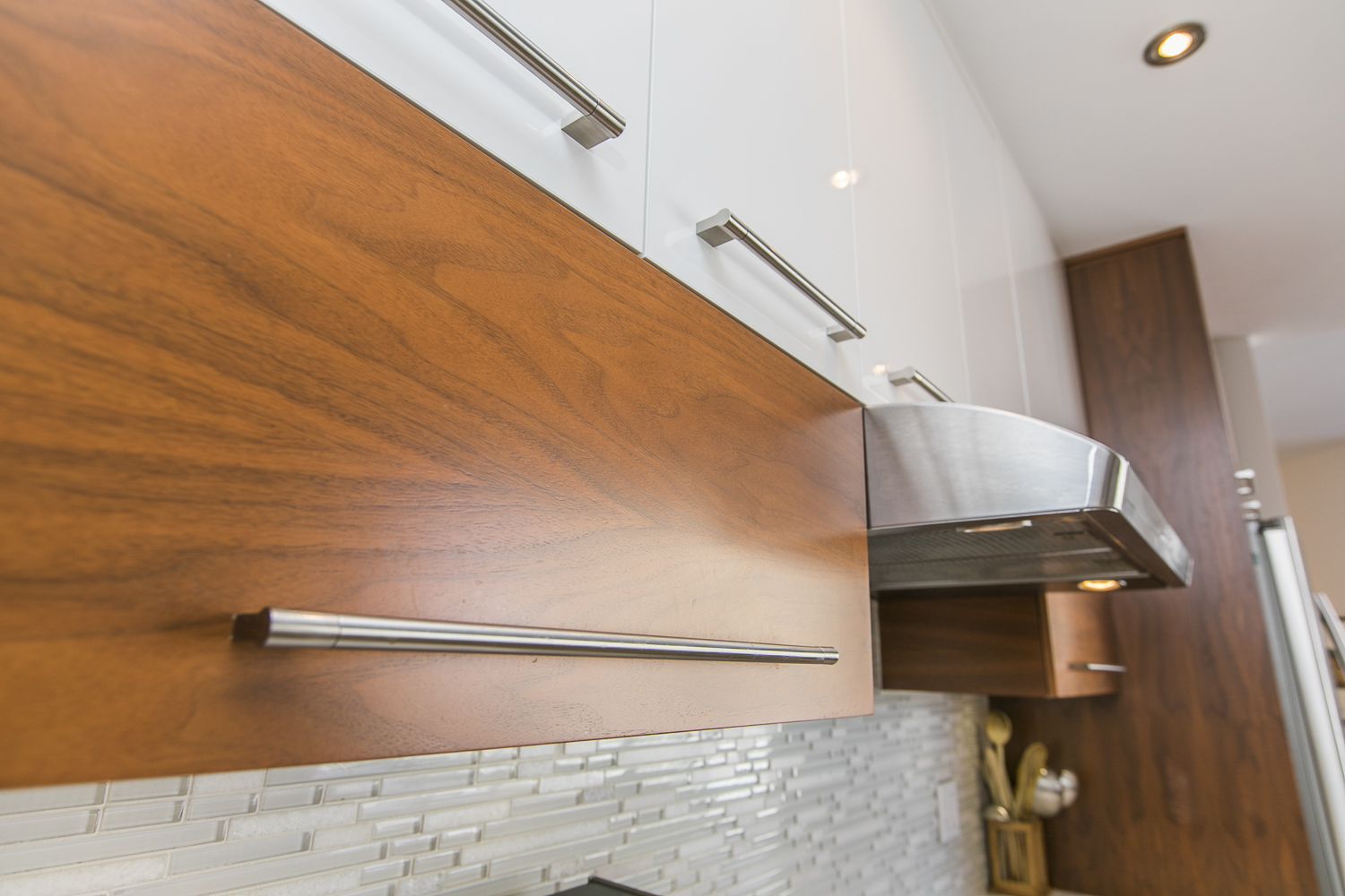 Kitchen cabinetry close up