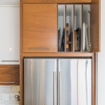 Kitchen customized tray storage