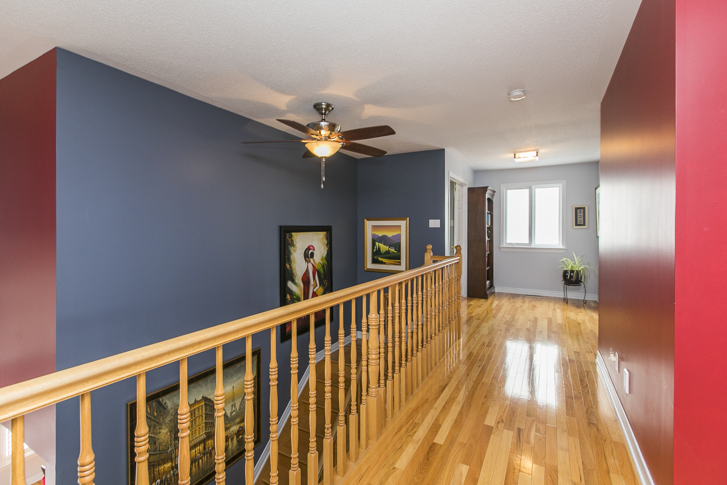 2nd Floor hall and Nook