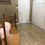 Mud room & access to garage & basement